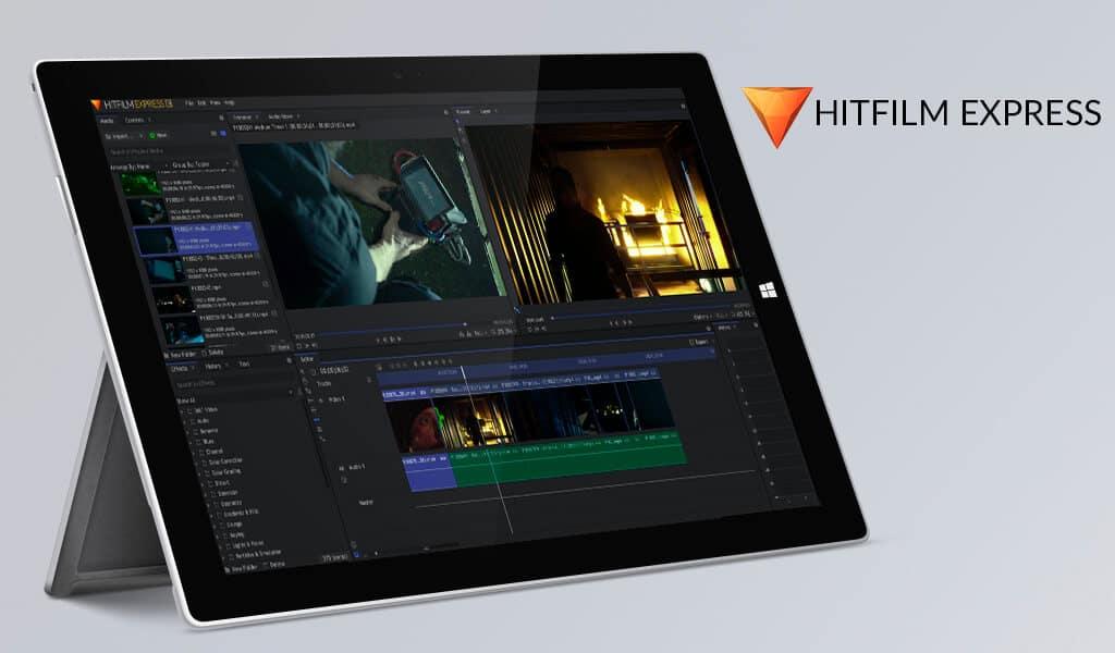 Hitfilm Express Ücretsiz Video DüzenlemeProgramı