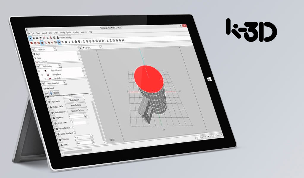K-3D Ücretsiz Animasyon Programları
