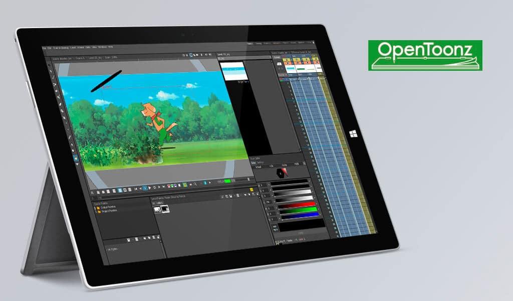 OpenToonz Ücretsiz Animasyon Programları
